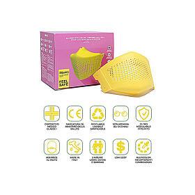 iMask2, Mund- und Nasenschutz, gelb s5