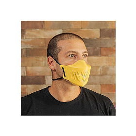 iMask2, Mund- und Nasenschutz, gelb s7