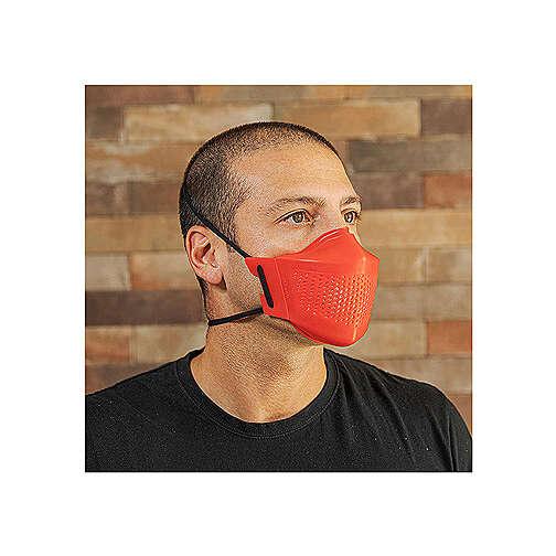 iMask2, Mund- und Nasenschutz, rot 3