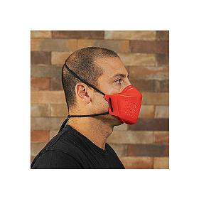 iMask2, Mund- und Nasenschutz, rot s7