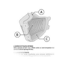 iMask2, Mund- und Nasenschutz, rot s8