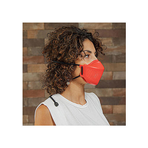 iMask2, Mund- und Nasenschutz, rot 1