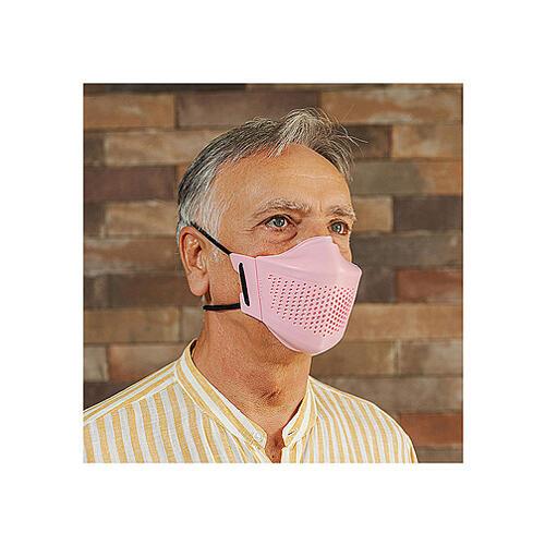 iMask2, Mund- und Nasenschutz, rosa 4