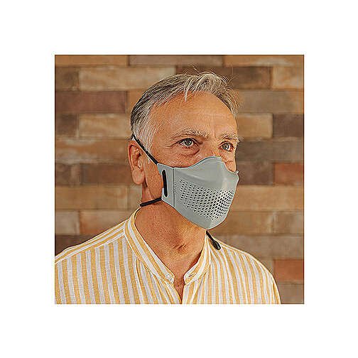 iMask2, Mund- und Nasenschutz, grau 3