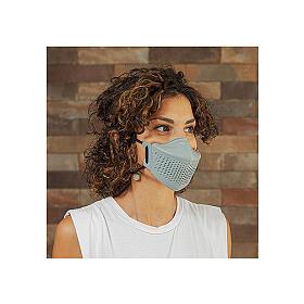 iMask2, Mund- und Nasenschutz, grau s1
