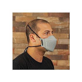 iMask2, Mund- und Nasenschutz, grau s4