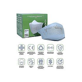 iMask2, Mund- und Nasenschutz, grau s5