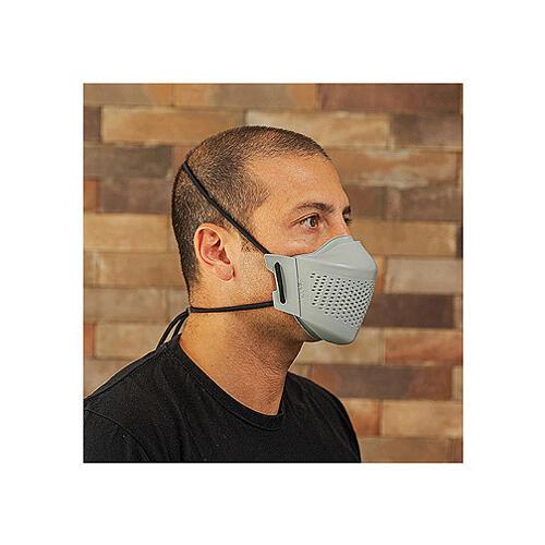 iMask2, Mund- und Nasenschutz, grau 4