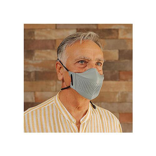 iMask2, Mund- und Nasenschutz, grau 7