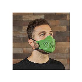 Máscara iMask2 verde folha s1