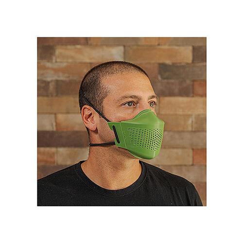 Máscara iMask2 verde folha 4