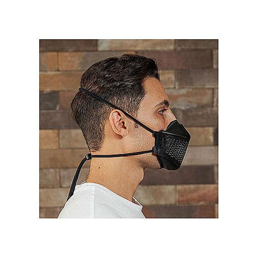 iMask2, Mund- und Nasenschutz, schwarz 3
