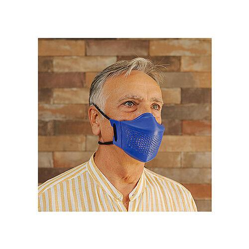 iMask2, Mund- und Nasenschutz, blau 1