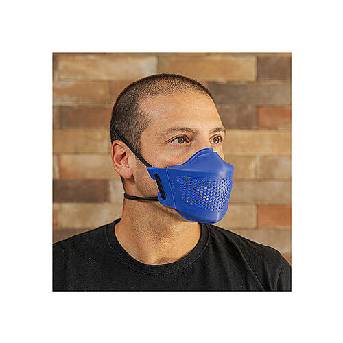iMask2, Mund- und Nasenschutz, blau 4
