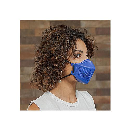 iMask2, Mund- und Nasenschutz, blau 7