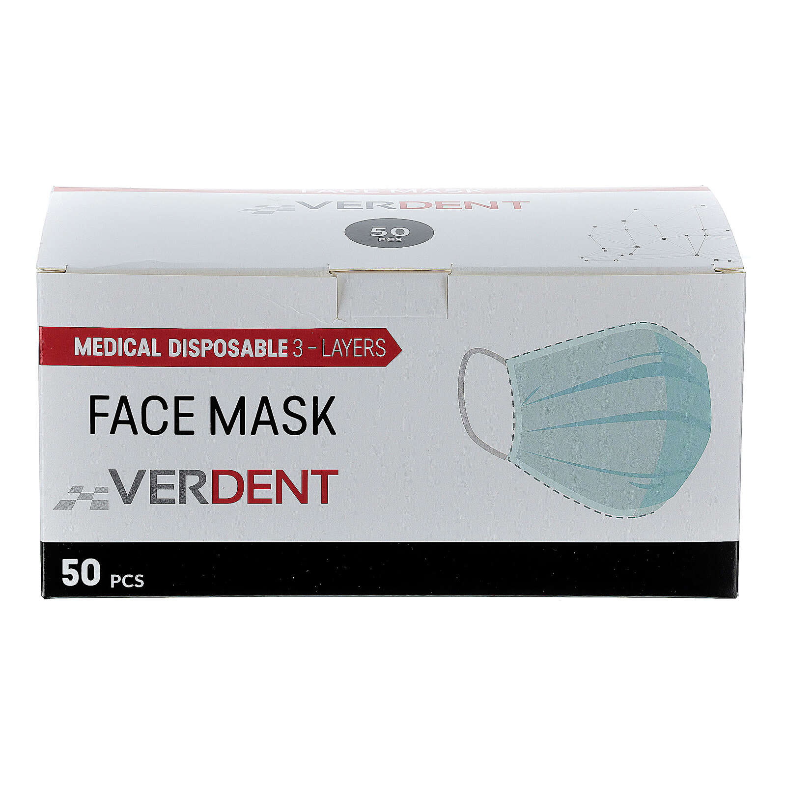 Surgical face mask single-use Type IIR 3