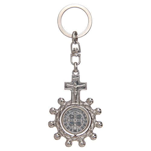 Porte-clé tournant, dizainier Saint Benoit 2