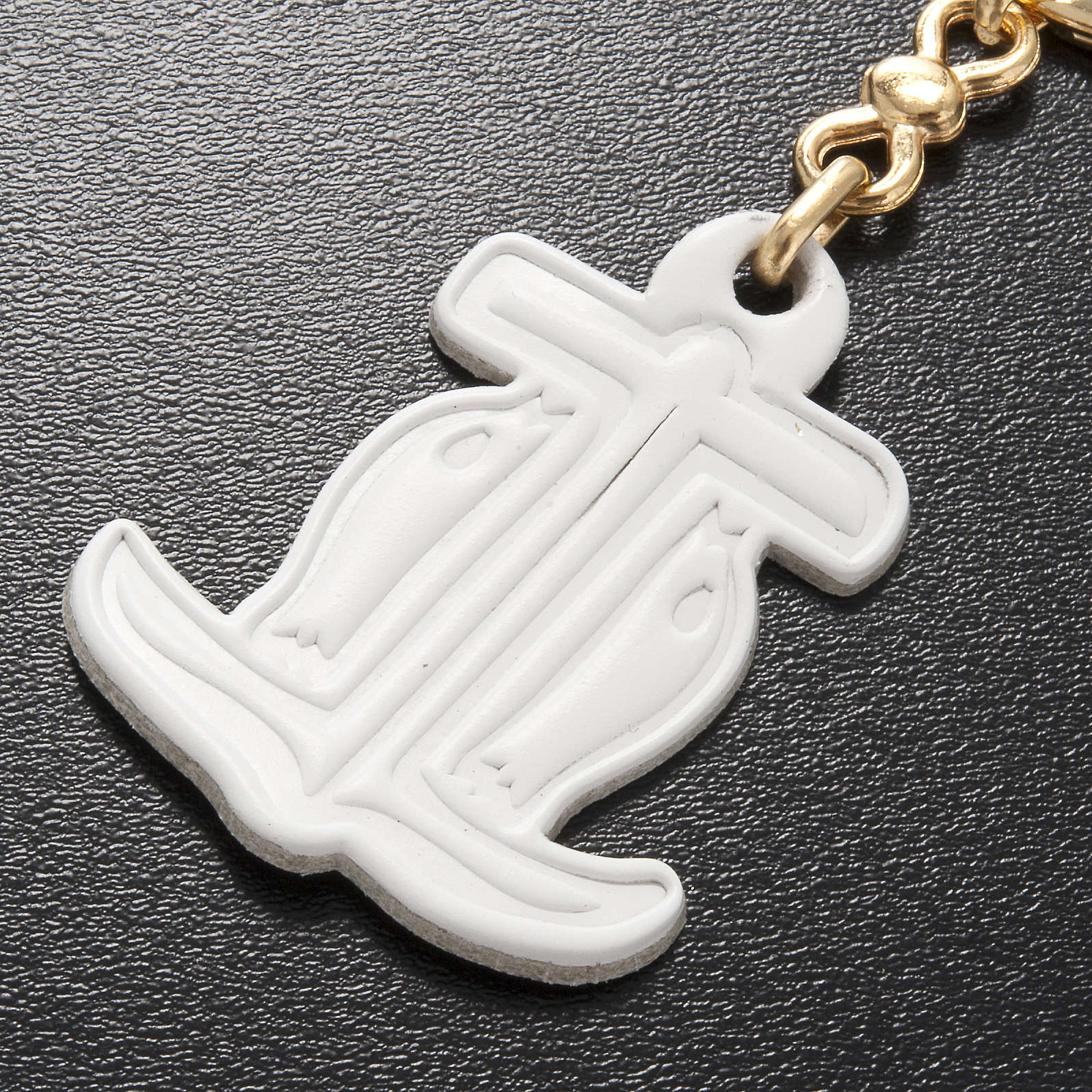 Hope anchor leather key ring 3