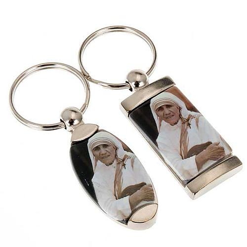 Portachiavi metallo Madre Teresa di Calcutta 1