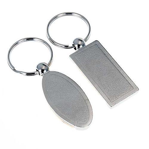 Porte-clés métal symboles Confirmation 2