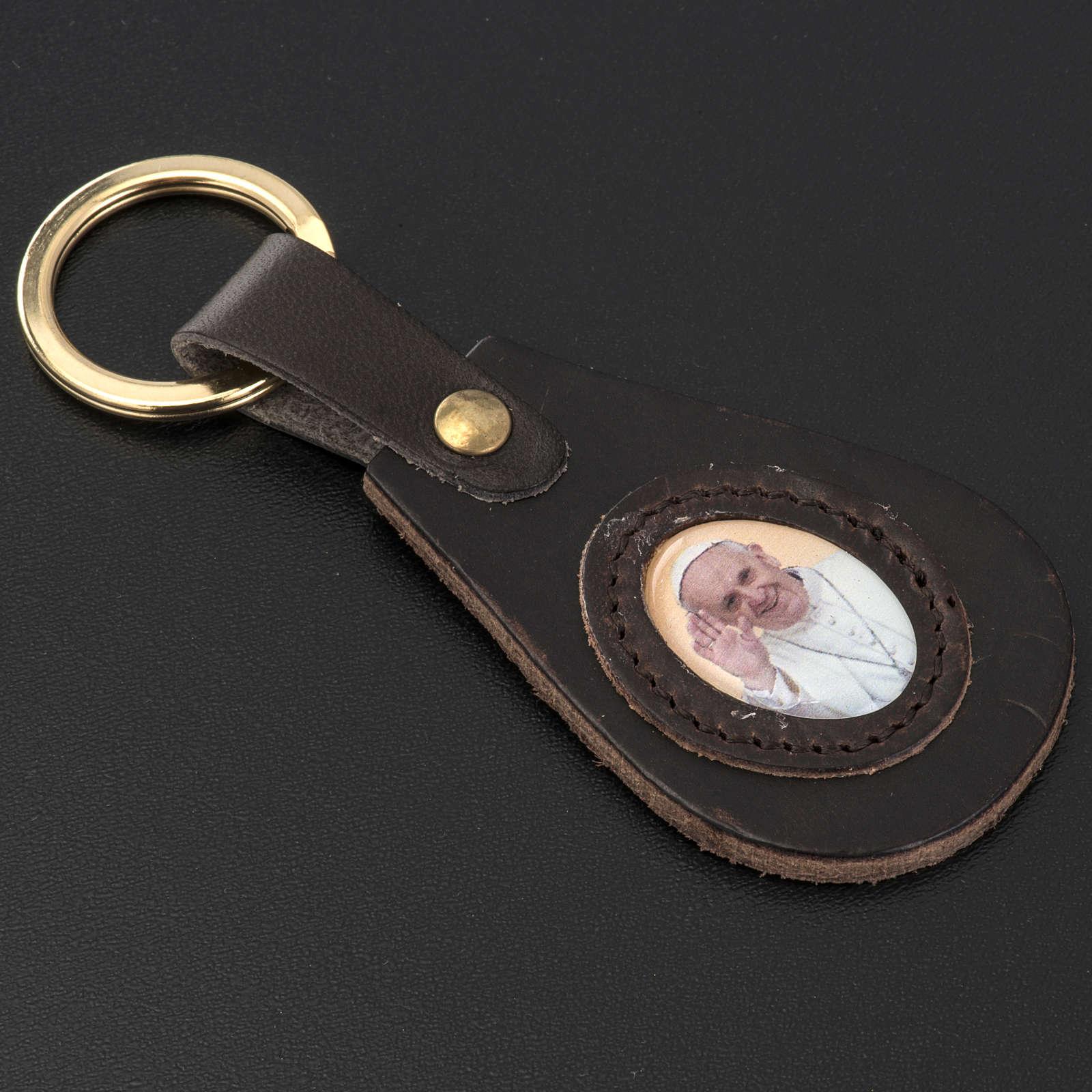 Porte clé goute Pape Francois 3