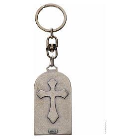 Porte-clé en zamac Notre Dame de Lourdes s2
