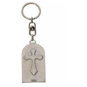 Porte-clé en zamac Pape François s2