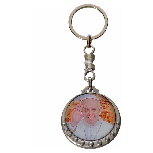 Pope Francis Keychain 2