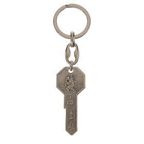 Schlüsselanhänger aus Metall in Form eines Schlüssels s1