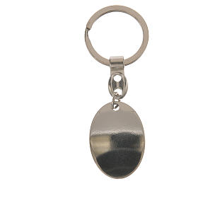 Porte-clef ovale Padre Pio s2