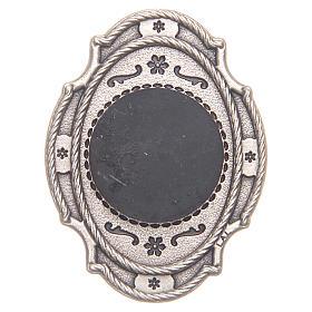 STOCK Aimant métal Jubilé Miséricorde rouge s2