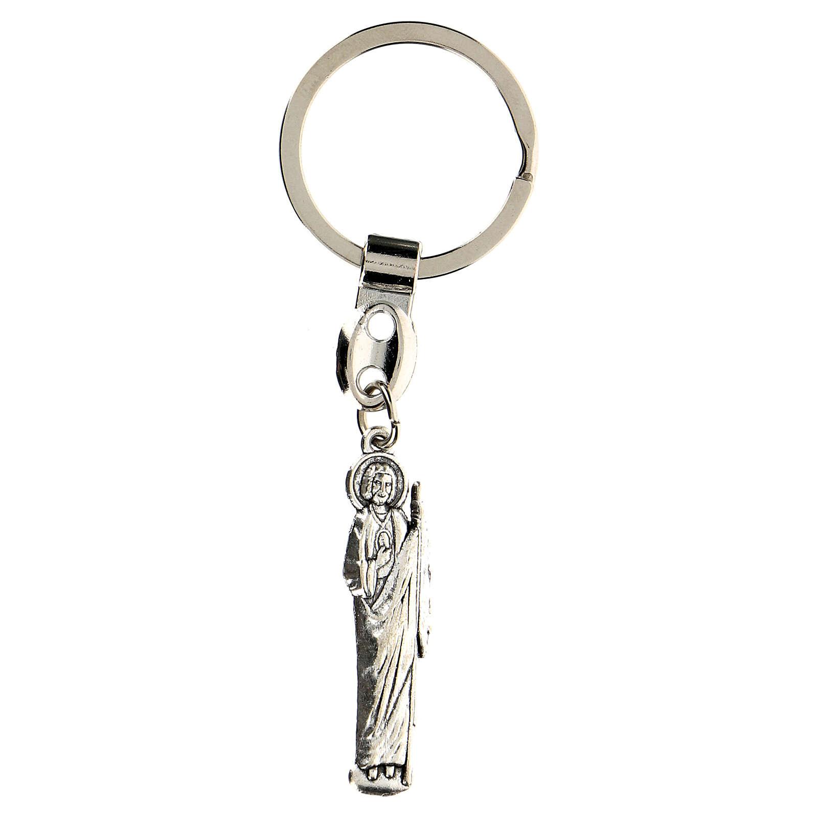 Porte-clé Saint Judas 4,5 cm 3