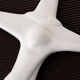 Crocefisso stilizzato Francesco Pinton 18-33-50 cm s3