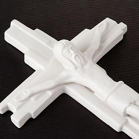 Crucifijo y resurrección Francesco Pinton 29 cm s7
