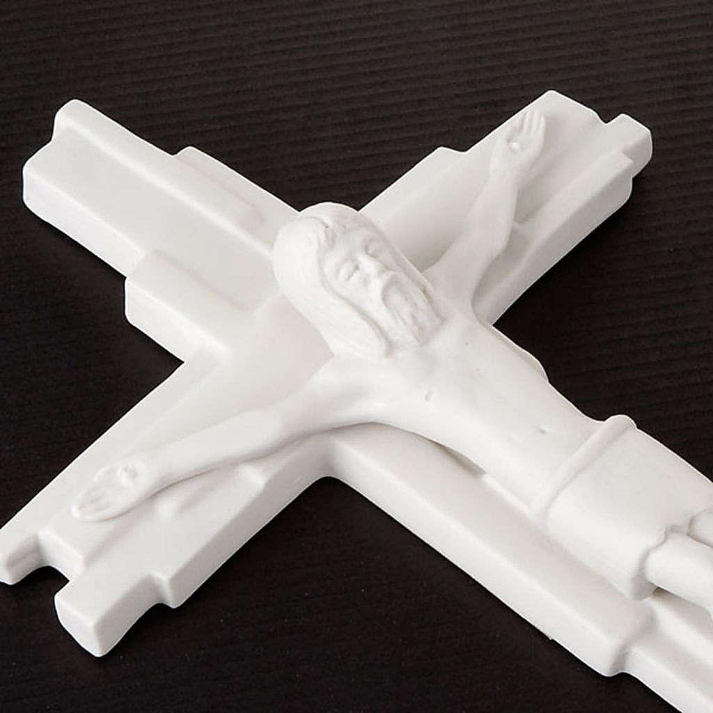 Croix crucifixion, résurrection Francesco Pinton 29 cm 4