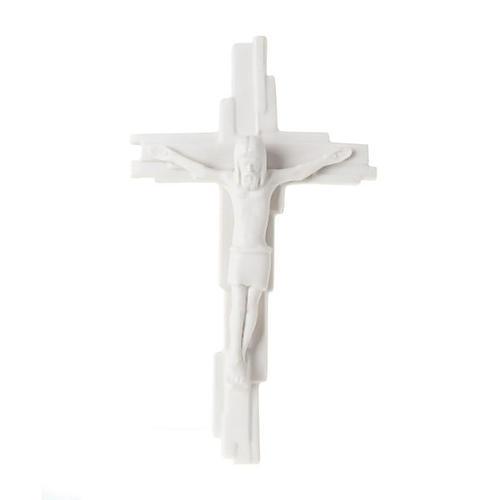 Croix crucifixion, résurrection Francesco Pinton 29 cm 1