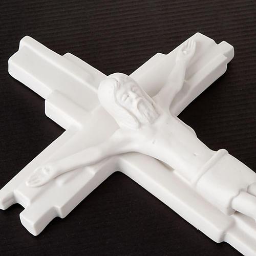 Croix crucifixion, résurrection Francesco Pinton 29 cm 8