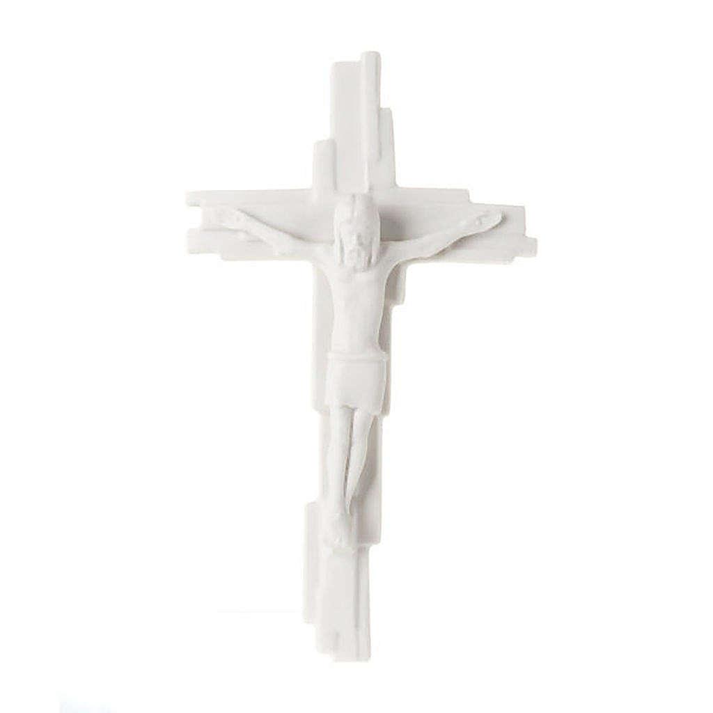 Crucifixo gótico Francesco Pinton 29 cm 4
