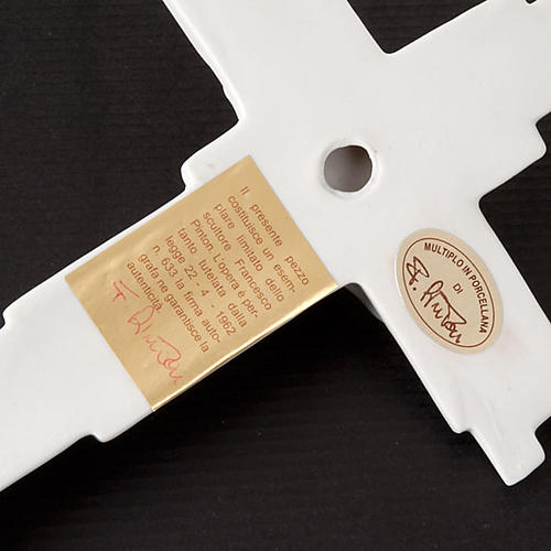 Crucifixo gótico Francesco Pinton 29 cm 2