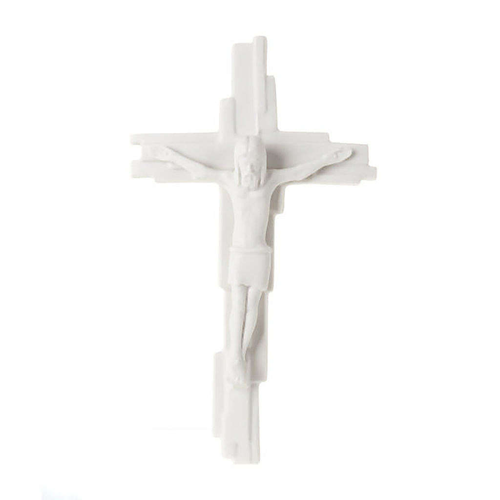 Wall Gothic Crucifix Francesco Pinton 29 cm 4