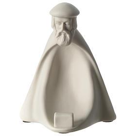 Re Magio Adorazione presepe 40 cm porcellana Pinton s1