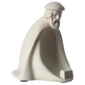 Re Magio Adorazione presepe 40 cm porcellana Pinton s3