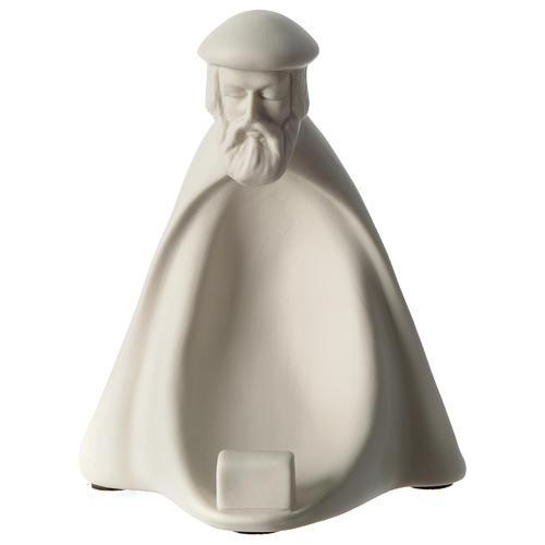 Re Magio Adorazione presepe 40 cm porcellana Pinton 1