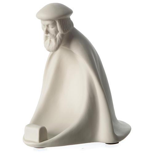 Re Magio Adorazione presepe 40 cm porcellana Pinton 2