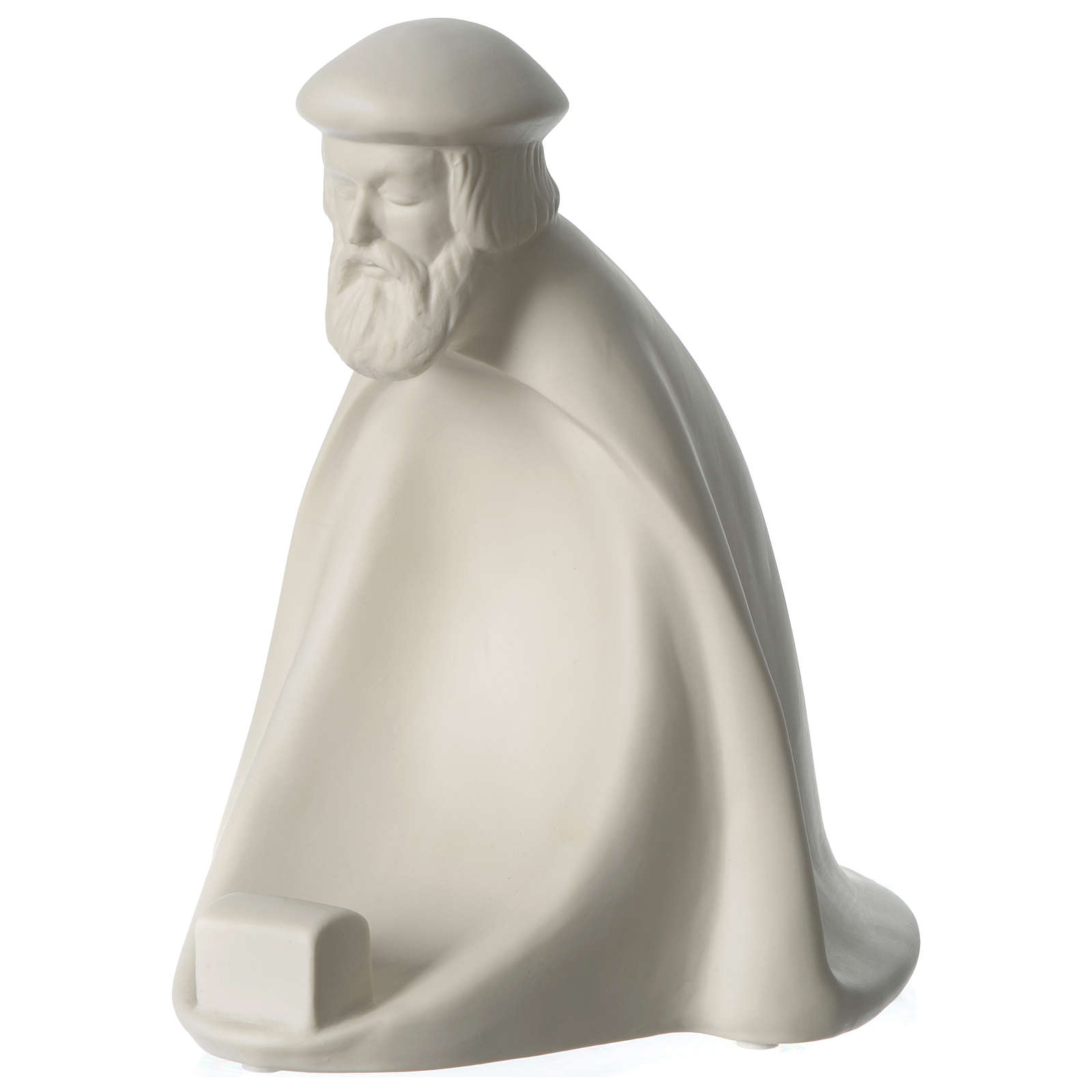 Magi King for 55 cm Nativity scene in porcelain Francesco Pinton 4