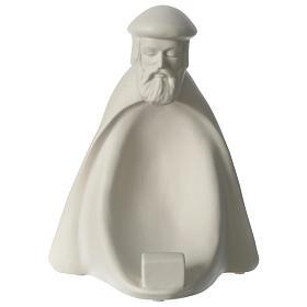 Rey prono porcelana para belén 55 cm de altura media Francesco Pinton s1