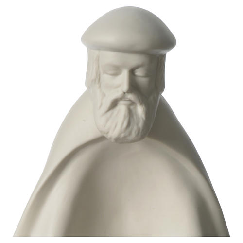 Rey prono porcelana para belén 55 cm de altura media Francesco Pinton 2
