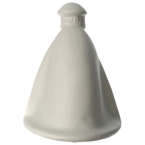 Rey prono porcelana para belén 55 cm de altura media Francesco Pinton 5