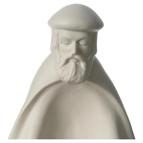 Re prono porcellana per presepe 55 cm Francesco Pinton 2