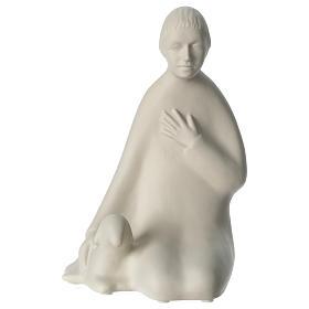 Crèches Noël stylisées: Berger porcelaine pour crèche 55 cm Francesco Pinton